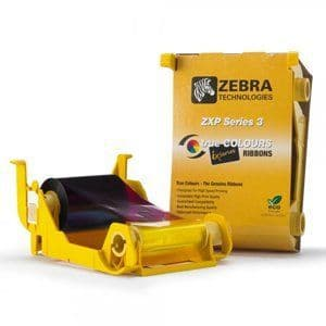 Zebra ZXP Series 3 YMCKOK Ribbon, 800033-348